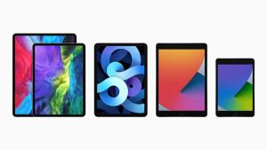 ไลน์อัปของ iPad ในปัจจุบัน ประกอบด้วย iPad Pro, iPad Air, iPad และ iPad Mini