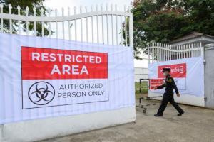 พม่าเร่งเต็มสูบสร้างโรงพยาบาลสนาม หลังยอดติดโควิดพุ่งพรวดวันเดียวกว่า 300 ราย