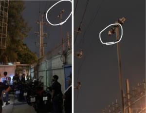 """""""สิงห์เจ้าท่า"""" แจ้งความ กล้อง CCTV ถูกปรับองศา-ห้องควบคุมไฟฟ้าถูกเปิดทิ้งไว้"""