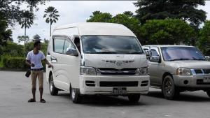 นั่นไง! รถสินค้าไทยติดกฎสกัดโควิดพม่า ตกค้างหน้าด่านฯ แม่สายตรึม