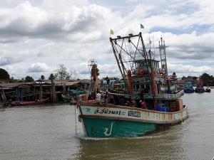 """""""ศักดิ์สยาม"""" สั่งรับมือ """"พายุโนอึล""""-กรมเจ้าท่าประกาศ เรือเล็กงดออกจากฝั่ง 17-20 ก.ย. 63"""
