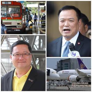 """""""การบินไทย"""" เทกออฟแผนฟื้นฟูฯ  ขสมก.เขย่าใหม่ ไม่ไหว 7 ปีโละให้เอกชน"""