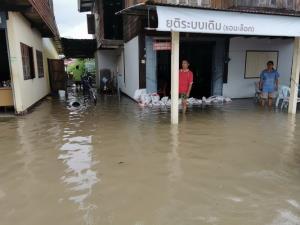 """""""โนอึล"""" ซัด 4 หมู่บ้านที่บุรีรัมย์จมกว่า 400 หลัง อพยพคนชรา-ผู้ป่วยติดเตียงไว้ที่ปลอดภัย"""