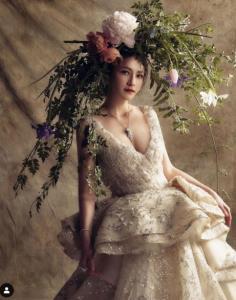 """""""ลี นาตาลี"""" งดงามดั่งเจ้าหญิงในเทพนิยาย กับงานถ่ายแบบชุดวิวาห์สุดเลอค่า"""