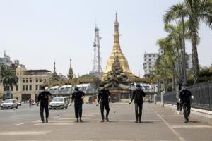 พม่าสั่งชาวเมืองย่างกุ้งห้ามออกจากบ้าน หลังยอดติดโควิดรายวันทุบสถิติ 641 คน