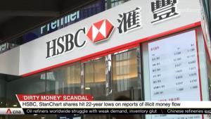 """In Clip: """"HSBC –สแตนดาร์ดชาร์เตอร์ด"""" เจอหุ้นตกต่ำสุดในรอบ 22 ปี หลังถูกแฉเคลื่อนย้ายเงินผิดกม.ไม่ต่ำกว่า 2 ล้านล้านดอลลาร์"""