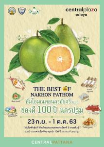 """The Best Of Nakornpathom"" วันส้มโอมณฑลนครชัยศรีและของดี 100 ปี นครปฐม"