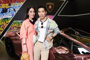 """ลัมโบร์กินีเปิดตัวแบรนด์แอมบาสซาเดอร์คนแรกของไทย """"ชมพู่-อารยา เอ ฮาร์เก็ต"""""""