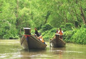 """สัมผัสเสน่ห์ """"ชนบทที่รัก"""" ชุมชนลีเล็ด-ชุมชนบางใบไม้ จ.สุราษฎร์ กับกิจกรรม Media & Trade FAM TRIP โครงการ Thailand Village Academy Season 2"""