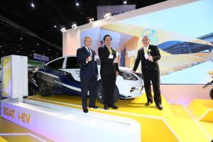กฟผ.โชว์ยานยนต์ไฟฟ้า 4EในงานASE 2020