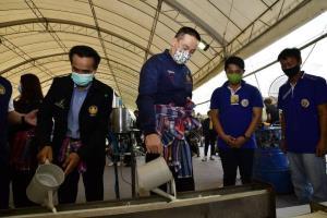 คมนาคม ลุย  kick off ยางพาราเพื่อความปลอดภัยทางถนนภาคอีสาน