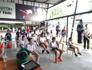 """WBC Muaythai Youth Cares ปลูกจิตสำนึกเยาวชน เปิดคลินิก """"เล่นมวยไทยให้ปลอดภัยในวัยเด็ก"""""""