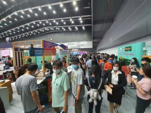 บรรยากาศบูทซีพีเอฟที่งาน Job Expo Thailand 2020 คึกคัก