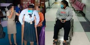 เจออีกแล้ว! ครูโหดทำโทษนักเรียนสั่งลุกนั่ง 100 ครั้ง จนเส้นเอ็นอักเสบ เดินไม่ได้นาน 2 เดือน