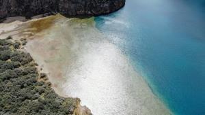 ทะเลสาบ 3 สี ทิเบต (ภาพ : ซินหัว)