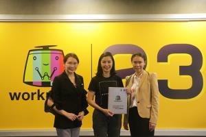 การลงนามบันทึกความร่วมมือโครงการวิจัยพัฒนาคุณภาพของสื่อโทรทัศน์ที่นำเสนอต่อสังคม (Thailand Quality Rating)