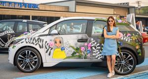 "BMW Unbound World of Art Series : ""ฝุ่น PM2.5"" บน BMW i3 โดย มธุนาฏ ซอโสตถิกุล"