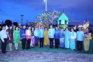 อลังการ จุดไฟตูมกา ออกพรรษายโสธร แห่งเดียวในไทย