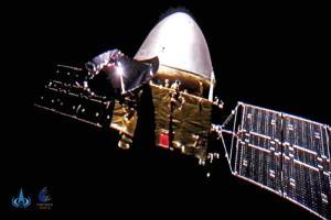 ยานสำรวจดาวอังคาร 'เทียนเวิ่น-1' เซลฟีกลางอวกาศ ฉลองวันชาติจีน