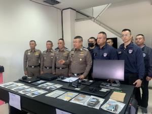 ตำรวจโชว์ฝีมือจับ 8 เว็บไซต์พนันออนไลน์-เงินหมุนเวียนกว่า 5 พันล้าน
