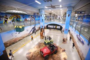 BMN จับมือ Garena พลิกโฉมสถานี MRT เป็นโลกในเกม FREE FIRE