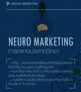 """ทำคอนเทนต์การตลาดประสาทวิทยา ด้วย """"Neuromarketing"""""""
