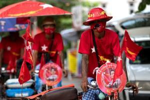 พรรคฝ่ายค้านพม่าโอดมาตรการคุมโควิดอุปสรรคใหญ่หาเสียงเลือกตั้ง รัฐบาลย้ำไม่เลื่อนวันหย่อนบัตร