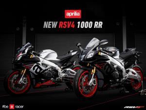 Aprilia NEW RSV4 1000 RR มากับ 2 สีใหม่ เปิดราคา 949,999 บาท