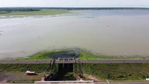 พายุฝนกระหน่ำส่งผลดี ช่วยเติมน้ำ 2 อ่างใหญ่ผลิตประปาเลี้ยงเมืองบุรีรัมย์พุ่ง พ้นวิกฤตแล้ง