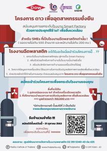 กสอ.ชวน SMEs ร่วมโครงการฯ ประยุกต์ใช้ IoT สู่การเป็น Smart Factory ขับเคลื่อนธุรกิจสู่ยุค 4.0