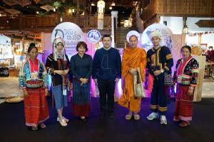 เมืองสุขสยาม ต้อนรับการท่องเที่ยวแห่งประเทศไทย (ททท.) งาน กาดหมั้ว คัวชาติพันธุ์