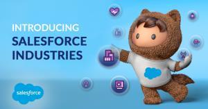 Saleforce Industries เร่งนำเสนอโซลูชันสำหรับอุตสาหกรรมเฉพาะทาง