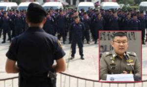 ระดมกำลังตำรวจ 95 กองร้อย เข้ากรุง เสริมทัพนครบาลคุมม็อบ 14 ตุลา