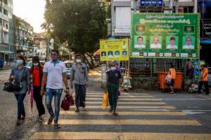 พม่าประกาศให้กลุ่มผู้สูงอายุทั่วประเทศเลือกตั้งก่อนกำหนดลดเสี่ยงติดเชื้อโควิด