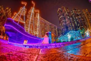 """เทศกาลแสงไฟสุดตระการตา """"Macao Light Festival"""" สว่างไสวทั่วเมืองมาเก๊า"""