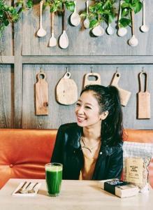 เป๊กกี้ ชาน ชวนกินอาหารจากพืชผัก