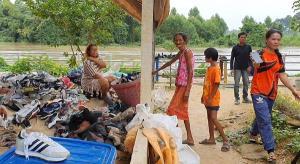 จับตาสถานการณ์น้ำคลองพระสะทึงเอ่อท่วมเขตเทศบาลเมืองสระแก้ว ชี้น่าเป็นห่วง