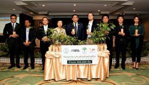 THE FORESTIAS by MQDC มอบกล้าไม้ 300,000 ต้นให้ กทม.