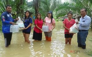 ยังอ่วม! พื้นที่เหนือ-ท้ายโครงการสร้างคลองผันน้ำแม่น้ำตรัง เดือดร้อนแล้ว 250 ครัวเรือน