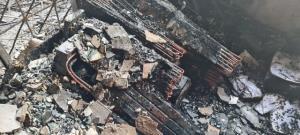 ไฟไหม้อาคารจำหน่ายเครื่องใช้ไฟฟ้าปากซอยหัวหิน 36 โชคดีควบคุมเพลิงทันไม่ลุกลาม