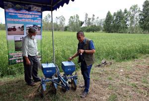 GIZ จับมือพันธมิตรลงพื้นที่ จ.อุบลฯ เสริมทักษะเกษตรกร ลดต้นทุนเพิ่มคุณภาพข้าว ด้วยโครงการข้าวยั่งยืนฯ