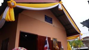 อบจ.นครพนม ร่วมกับ ร.3 พัน 3 ส่งมอบบ้านเฉลิมพระเกียรติฯ ช่วยผู้ยากไร้ ต.หนองญาติ