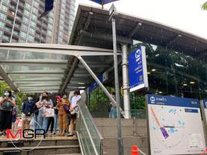 รถไฟฟ้า MRT สายสีน้ำเงิน แจ้งหยุดให้บริการ ตั้งแต่ 12.30 น. หลังม็อบนัดรวมตัวรถไฟฟ้าทุกสถานี