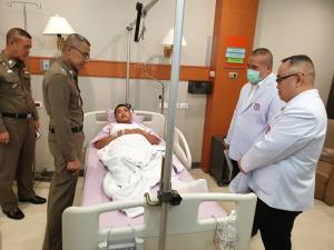 แพทย์ใหญ่ รพ.ตำรวจ ย้ำปฏิบัติการเชิงรุกดูแลประชาชน-ตำรวจ ในการชุมนุม ไม่มีการยุบหน่วยงานใด