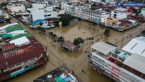 อ่วม! อรัญประเทศเจอน้ำท่วมครั้งใหญ่ในรอบ 8 ปี ชาวบ้านเดือดร้อนนับหมื่นครัวเรือน