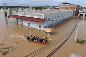 น้ำท่วมกัมพูชาดับแล้ว 25 คน 'ฮุนเซน' ประกาศช่วยครอบครัวผู้เสียชีวิต 10 ล้านเรียล