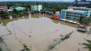 คาดสถานการณ์น้ำเมืองอรัญฯ กลับสู่ภาวะปกติใน 2-3 วัน หลังปริมาณน้ำลดต่อเนื่อง