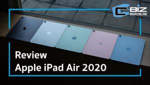 Review : Apple iPad Air (2020) เปลี่ยนโฉม พร้อมชิป A14 Bionic ที่แรงขึ้น
