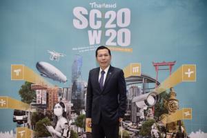 """""""ดีป้า"""" มอบใบประกาศเขตส่งเสริมเมืองอัจฉริยะเพิ่ม 13 พื้นที่โชว์ความก้าวหน้าการขับเคลื่อนเมืองอัจฉริยะประเทศไทยต่อเนื่องรวมว่าที่เมืองอัจฉริยะ 40 พื้นที่ทั่วประเทศ"""