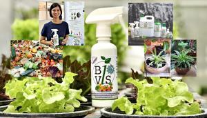 """(ชมคลิป) """"BioVIS"""" สารบำรุงพืชจากเศษอาหาร สร้างมูลค่าจากขยะไร้ราคา เป็นปุ๋ยชีวภาพรักษ์สิ่งแวดล้อม"""
